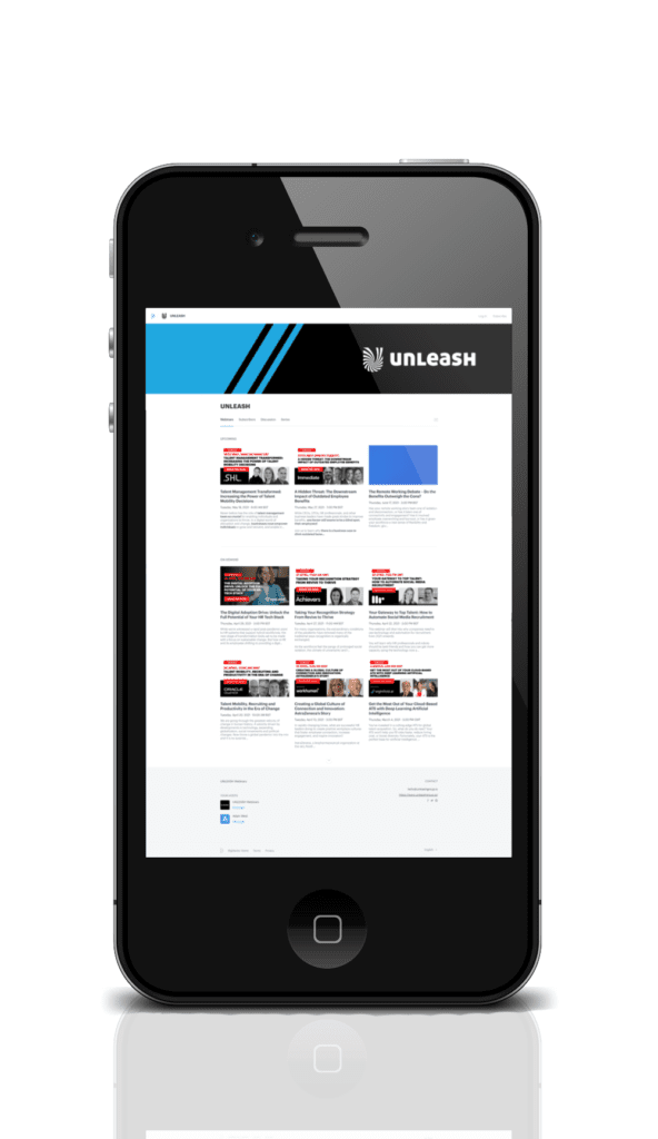 UNLEASH HR Webinars